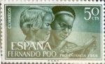 Stamps Spain -  Intercambio 0,25 usd 50 cents. 1966