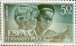 Sellos de Europa - España -  Intercambio 0,25 usd 50 cents. 1966