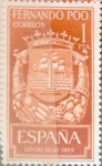 Stamps Spain -  Intercambio 0,25 usd 1 pts. 1965