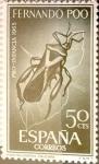 Sellos de Europa - España -  Intercambio 0,30 usd 50 cents. 1965
