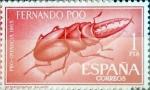 Sellos de Europa - España -  Intercambio 0,30 usd 1 pta. 1965