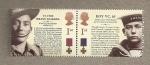 Stamps United Kingdom -  Heroes