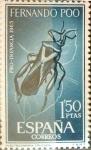 Sellos de Europa - España -  Intercambio fd2a 0,35 usd 1,50 ptas. 1965