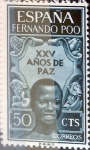Stamps Spain -  Intercambio 0,25 usd 50 cents. 1964