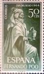 Sellos de Europa - España -  Intercambio 0,25 usd 50 cents.1964