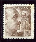 Stamps Spain -  Generlal Franco