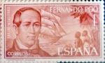 Stamps Spain -  Intercambio 0,25 usd 1 pta. 1964