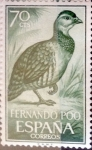 Stamps of the world : Spain :  Intercambio cr2f 0,25 usd 70 cents. 1964