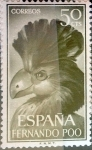 Stamps of the world : Spain :  Intercambio 0,25 usd 50 cents. 1964
