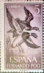 Stamps of the world : Spain :  Intercambio 1,50 usd 5 ptas. 1964
