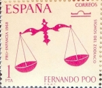 Sellos de Europa - España -  Intercambio 0,25 usd 1 pta. 1968