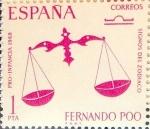 Stamps : Europe : Spain :  Intercambio 0,25 usd 1 pta. 1968