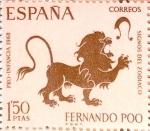 Stamps : Europe : Spain :  Intercambio 0,30 usd 1,50 ptas. 1968