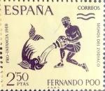 Sellos de Europa - España -  Intercambio 0,40 usd 2,50 ptas. 1968