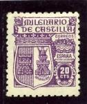 Stamps Spain -  Milenario de Castilla. Ávila