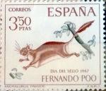 Sellos del Mundo : Europa : España : Intercambio 0,40 usd 3,50 ptas. 1967