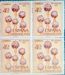 Sellos de Europa - España -  Intercambio 1,00 usd 4 x 40 cents. 1967