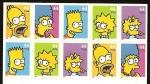 Sellos del Mundo : America : Estados_Unidos :  The Simpsons Family