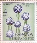 Stamps : Europe : Spain :  Intercambio nf4b1 0,35 usd 4 ptas. 1967
