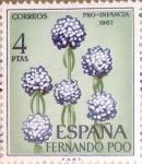 sello : Europa : España : Intercambio 0,35 usd 4 ptas. 1967