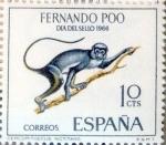 sellos de Europa - España -  Intercambio 0,30 usd 10 cents. 1966