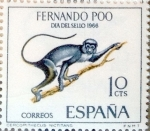 Stamps Spain -  Intercambio 0,30 usd 10 cents. 1966