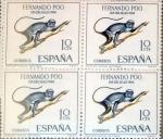 Sellos de Europa - España -  Intercambio 1,20 usd 4 x 10 cents. 1966