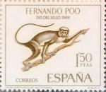 Stamps Spain -  Intercambio 0,35 usd 1,50 ptas. 1966