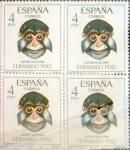 Sellos de Europa - España -  Intercambio 1,80 usd 4 x 4 ptas. 1966