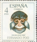Sellos de Europa - España -  Intercambio 0,45 usd 4 ptas. 1966