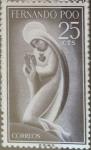 Sellos de Europa - España -  Intercambio 0,25 usd 25 cents. 1960