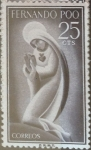 Sellos de Europa - España -  Intercambio fd2a 0,25 usd 25 cents. 1960