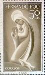 Sellos de Europa - España -  Intercambio 0,25 usd 50 cents. 1960
