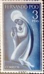 sellos de Europa - España -  Intercambio 3,00 usd 3 ptas. 1960