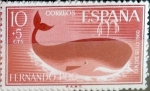 Stamps Spain -  Intercambio 0,30 usd 10 + 5 cents. 1961