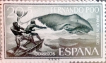 Stamps Spain -  Intercambio 0,30 usd 20 + 5 cents. 1961