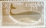 Sellos de Europa - España -  Intercambio 0,30 usd 30 + 10 cents. 1961
