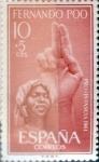 Sellos de Europa - España -  Intercambio 0,30 usd 10 + 5 cents. 1961