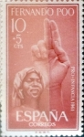 Sellos del Mundo : Europa : España : Intercambio 0,30 usd 10 + 5 cents. 1961