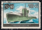 Stamps Russia -  Barcos de la II Guerra Mundial