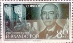 sellos de Europa - España -  Intercambio 0,60 usd 80 cents. 1960