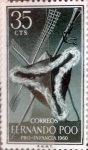 Stamps Spain -  Intercambio 0,50 usd 35 cents. 1960