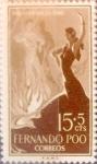 Sellos de Europa - España -  Intercambio 0,25 usd 15 + 5 cents. 1960