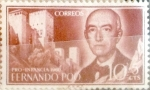Stamps Spain -  Intercambio 0,25 usd 10 + 5 cents. 1960
