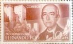 Sellos de Europa - España -  Intercambio 0,25 usd 10 + 5 cents. 1960