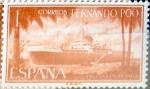 Sellos de Europa - España -  Intercambio fda 0,25 usd 1 pta. 1962