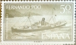 Stamps Spain -  Intercambio 0,25 usd 50 cents. 1962