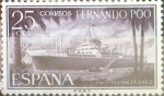 Stamps : Europe : Spain :  Intercambio 0,25 usd 25 cents. 1962