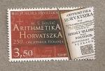 Sellos de Europa - Croacia -  250 Aniv. impresión libro Aritmética