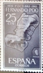 Stamps Spain -  Intercambio 0,25 usd 25 cents. 1961
